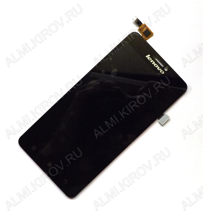 Дисплей для Lenovo S850 + тачскрин черный