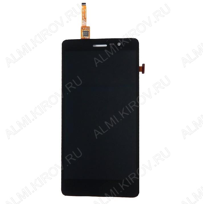 Дисплей для Lenovo S860 + тачскрин черный