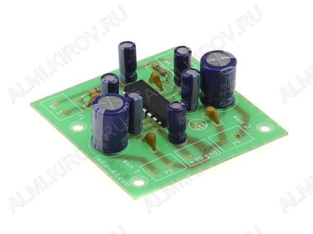 Радиоконструктор Усилитель 2х2Вт RS206 (на TEA2025B) (Распродажа) УНЧ начинает работать от 3 Вольт,имеет защиту от перегрева.Выходная мощность в режиме