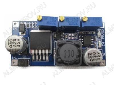 Радиоконструктор Преобразователь DC/DC в 1,25...30В(3А) из 7...35В (RP013) Понижающий. Частота преобразования 150 кГц; Регулировка выходного тока.
