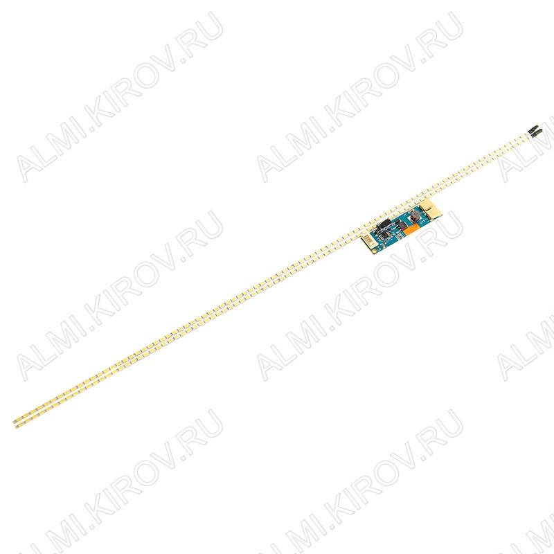 Комплект:модуль подсветки LED TV 485мм(22') 90 светодиодов 2835 2шт +драйвер
