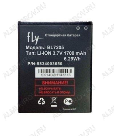АКБ для Fly IQ4409 Era Life 4 Quad Orig