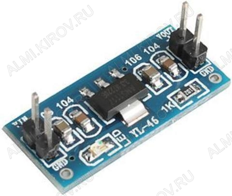 Радиоконструктор Стабилизатор напряжения линейный 3,3В (0,8А) RP006 на AMS1117-3.3 Входное напряжение: 4,5...15 В; Выходное напряжение: 3,3 В; Максимальный выходной ток: 0,8 А;