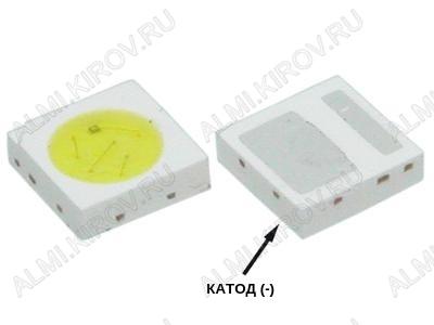 Светодиод SMD 3030 CW 350mA 3V 10000K Double Chips (Холодный белый)
