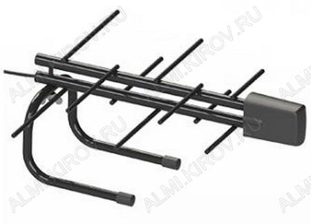 Антенна комнатная L942.10 Кайман активная ДМВ/DVB-T; 18dB; питание 5V от USB или от ресивера, без блока питания, с кабелем