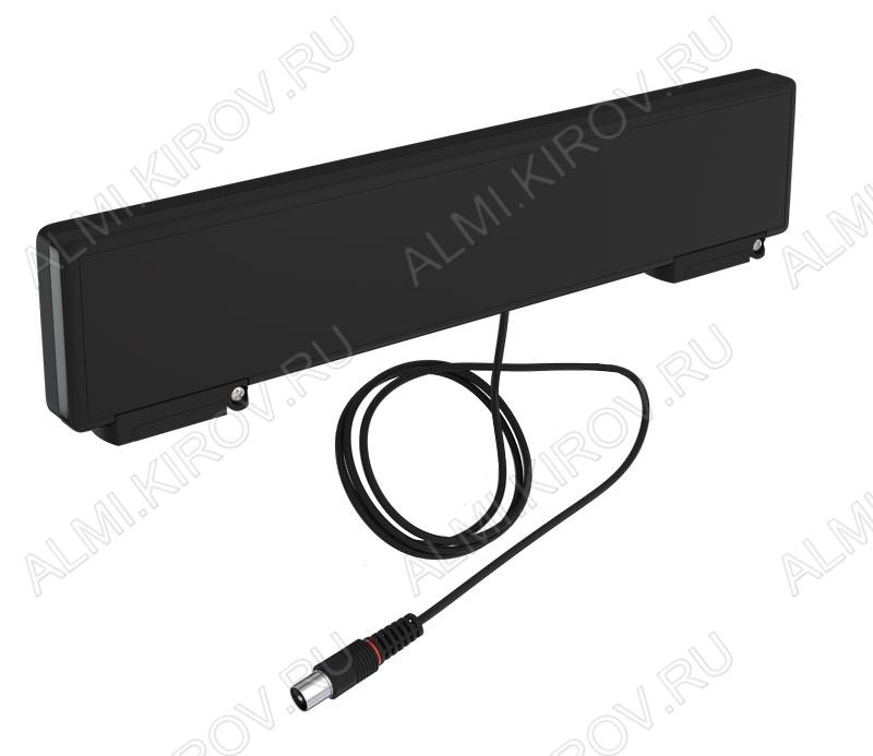 Антенна комнатная BAS-5310 5V HORIZON активная ДМВ/DVB-T; 35dB; питание 5V от ресивера, с кабелем 1.2м