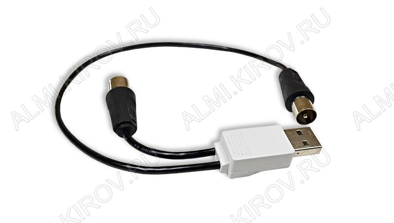 Усилитель BAS-8102 INDOOR USB телевизионный 21-69канал; 16dB; питание 5V от USB