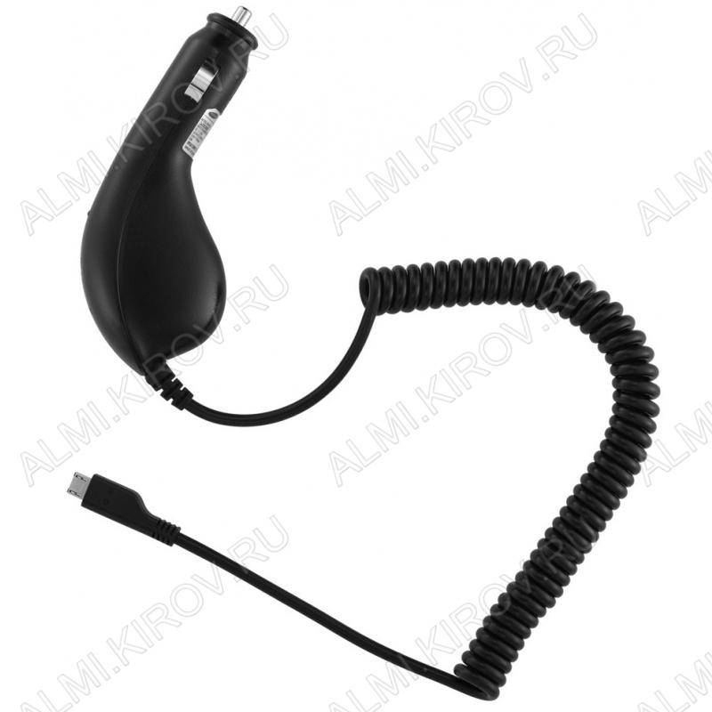 Адаптер питания (16-0251) для видеорегистратора с miniUSB разъемом кабель 1,2м; (5V 1000mA)(гарантия 2 недели)