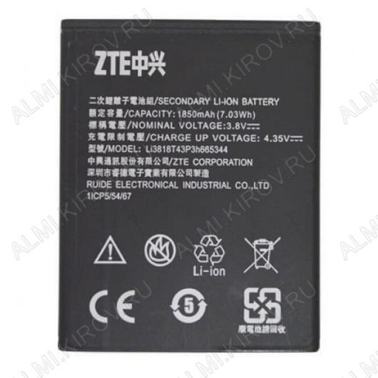 АКБ для ZTE Blade GF3/T320 Li3818T43P3h665344