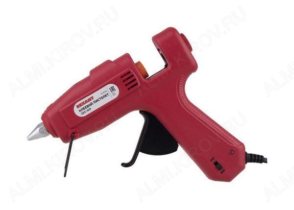 Пистолет для термоклея (d=11мм) 60W ПРОФИ 12-0114