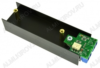 Радиоконструктор Ключ оптосимисторный 8А STK0046-8A (коммутация до 600В 8А) (Распродажа) Коммутируемое переменное напряжение до 600 В, ток до 8 А. Напряжение изоляции 5 КВ. Ключ открыт при напряжении на входе 3,3..5,0 В, закрыт 0..1 В.