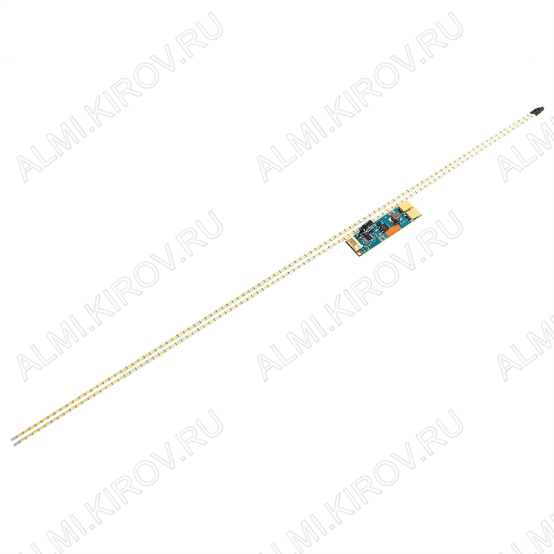 Комплект:модуль подсветки LED TV 535мм(24') 99 светодиодов 3528 2шт +драйвер