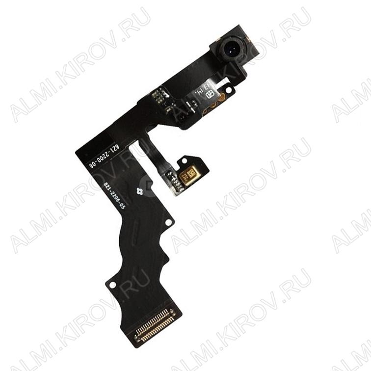 Шлейф для iPhone 6 Plus + светочувствительный элемент + фронтальная камера (в сборе)