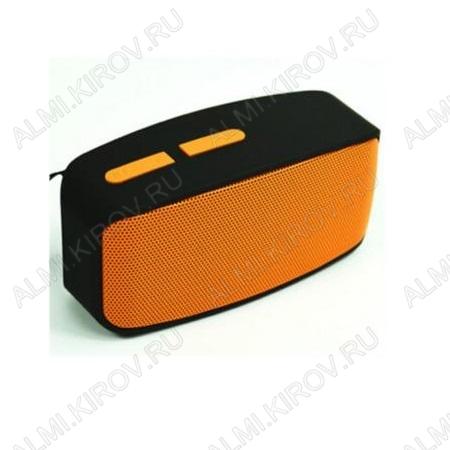АудиоКолонка MP3 N10U оранжевая