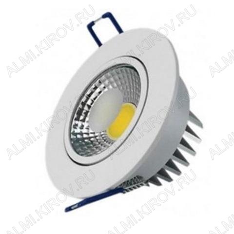 Светильник светодиодный  встраиваемый 5W/460 lm/4200K (016-033-0005)