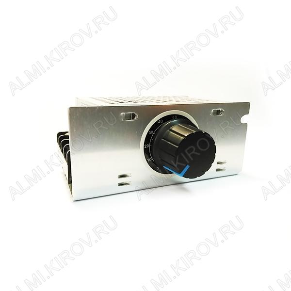 Радиоконструктор Регулятор мощности 4000Вт 220В MK067M (на BTA41-600, в корпусе с радиатором) 220В (18А). Построено на базе симистора BTA41600 для регулирования мощности электронагревательных, осветительных приборов, коллекторных двигателей