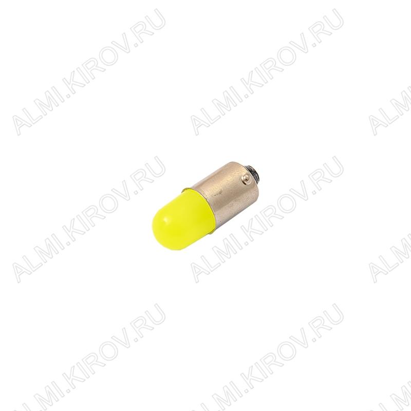 Лампа светодиодная (A30)T8 BA9S-3D 12V (цвет белый) автомобильная