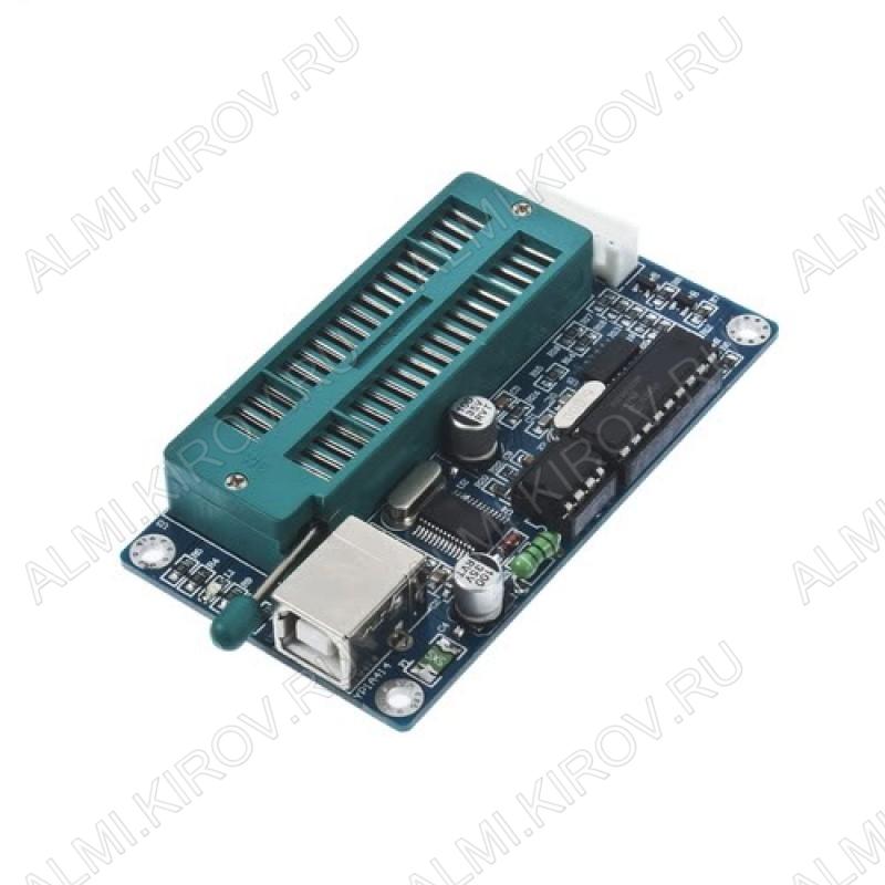 Программатор PIC K150, для серии PIC контроллеров с USB с поддержкой наиболее популярных моделей