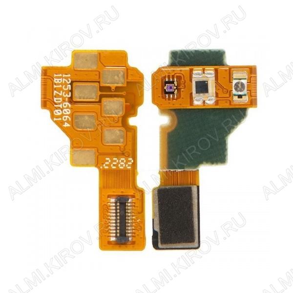 Шлейф для Sony Xperia U (ST25) на разъем гарнитуры + сенсор