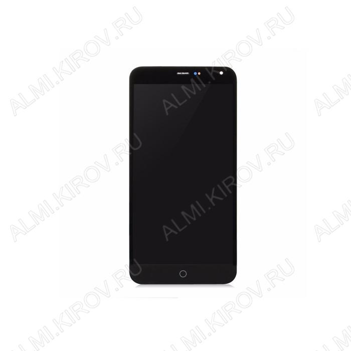 Дисплей для Meizu M1 Note (metal) + тачскрин черный