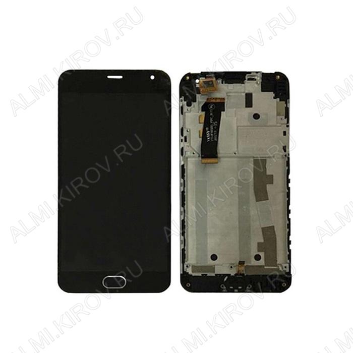 Дисплей для Meizu M2 mini + тачскрин черный