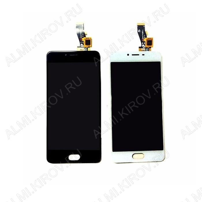 Дисплей для Meizu M3s mini + тачскрин черный