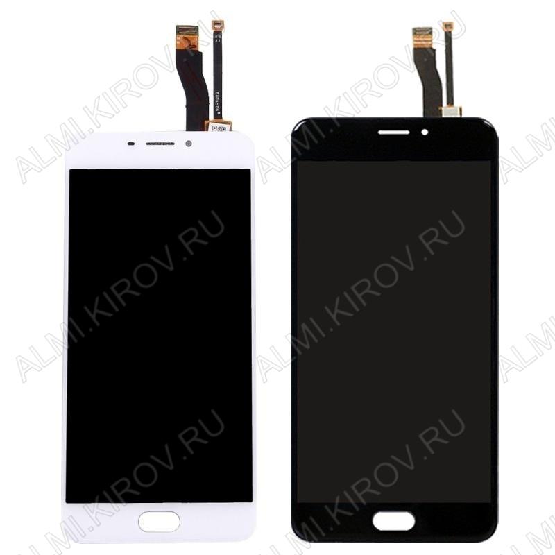 Дисплей для Meizu M5 Note + тачскрин черный