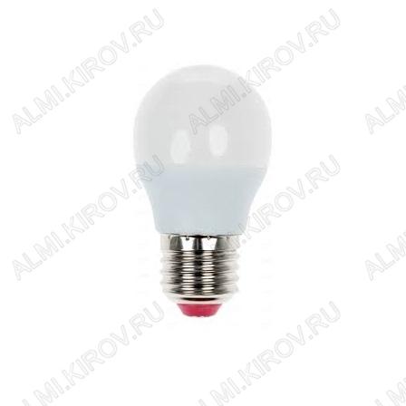 Лампа светодиодная 220В/  9Вт/ E27/ 6500К (холодный белый) (L429)/ 880lm (Eco_LED9wGL45E2765);