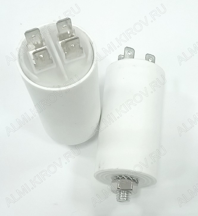 Конденсатор 150mF (450V) К78-17 (CBB-60) клеммы+болт пусковые (65*130мм)