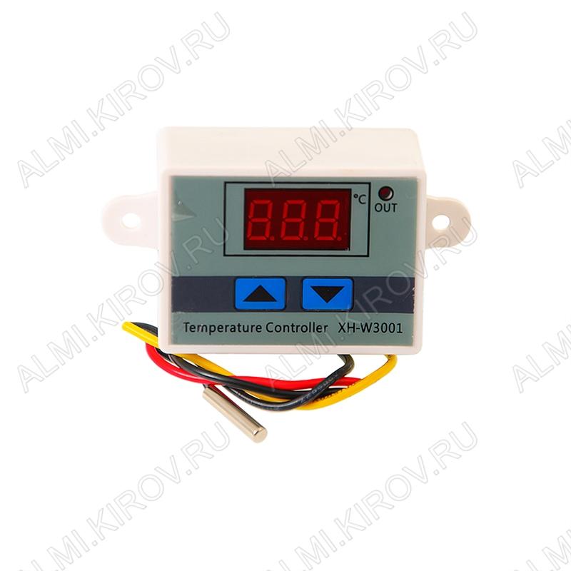 Термостат-выключатель XH-W3001-12V -50-110° 10A 12V