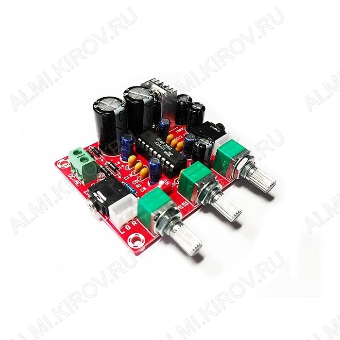 Радиоконструктор Темброблок стерео BM2112 (на XR1075) Напряжение питания, В ~ или = 6-18; Частотный диапазон, Гц 20 ...20000; Коэффициент гармоник на частоте 1 кГц, % 0,06