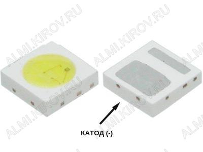Светодиод SMD 3030 CW 200mA 6-6,5V
