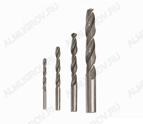 Сверло d=6,0 мм (1шт) (92060) Сталь Р6М5