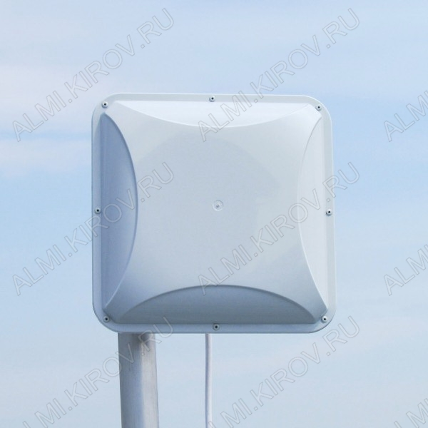 Антенна стационарная PETRA BROAD BAND 75 MIMO2x2 (75 Ом) для 3G/4G USB-модема 3G/4G/LTE; 1700-2700 MHz; 14dB; без кабеля; 2 разъема F-гнезда
