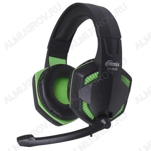 Наушники дуговые с микрофоном RH-560M Gaming