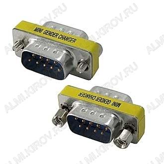 Переходник (521) DB9M/DB9M (RS232 COM)