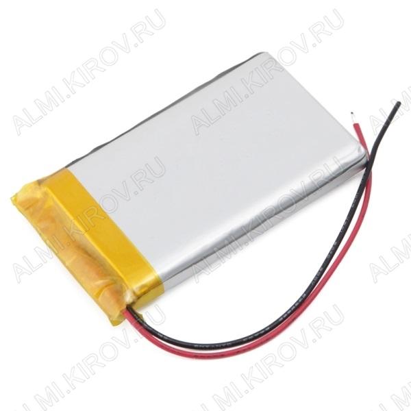 Аккумулятор 3,7V LP303040-PCB-LD 300mAh Li-Pol; 30*40*3,0мм                                                                                                               (цена за 1 аккумулят