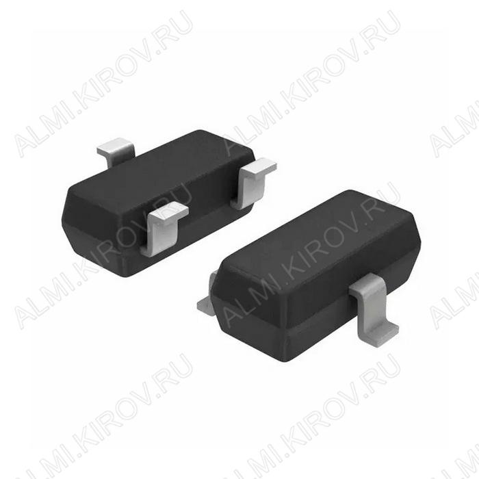 Транзистор TP0610K-T1-E3 MOS-P-FET-e;V-MOS;60V,0.185A,6R,0.35W