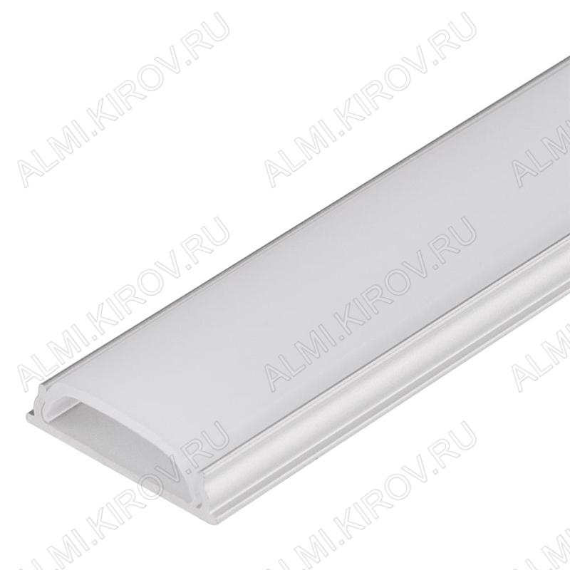 Профиль гибкий ARH-BENT-W18-2000 ANOD (023087)  для LED-ленты шириной до 14мм, до 18W/m размеры: 2000*18*4мм