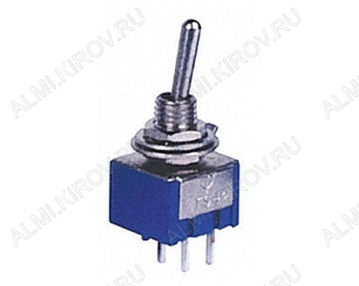 Тумблер MTS-201 (250V;3A) ON-OFF 4 pin
