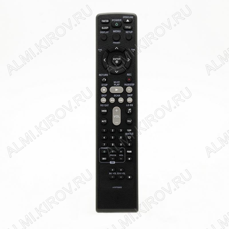 ПДУ для LG/GS AKB37026832 DVD