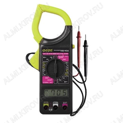 Мультиметр M266 токовые клещи