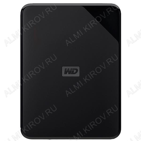 Внешний HDD ELEMENTS PORTABLE WDBEPK0010BBK-WESN черный 1Tb, USB 3.0, корпус пластик, скоросто передачи данных 5Гбит/сек