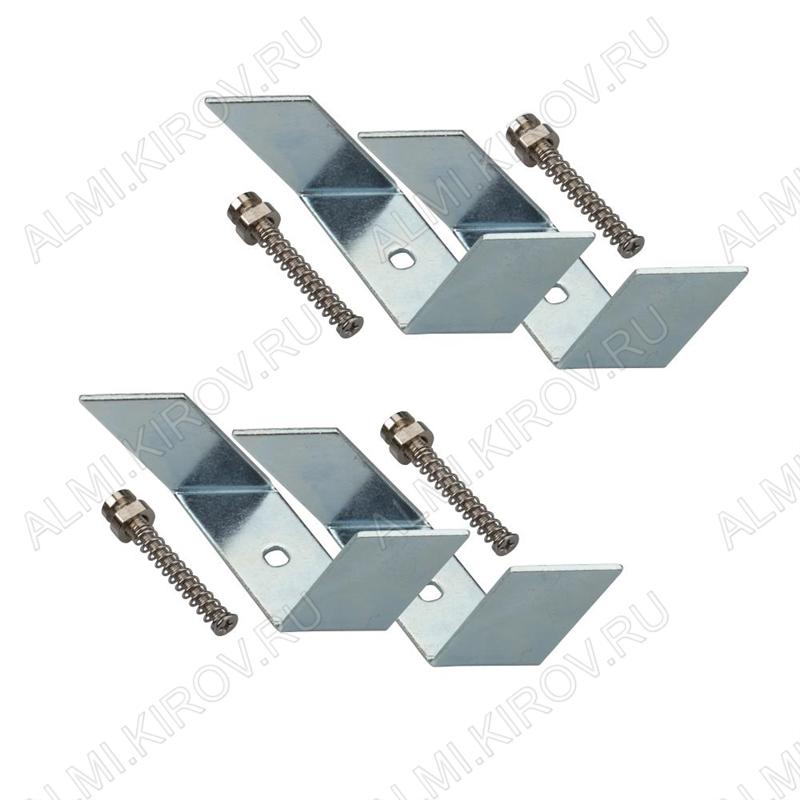 Держатель SL-LINIA62-F (019351)  для профилей SL-LINIA62-F-2000 ANOD, SL-LINIA62-F-2500 комплект: 4 держателя, 4 винтовых пары; металл