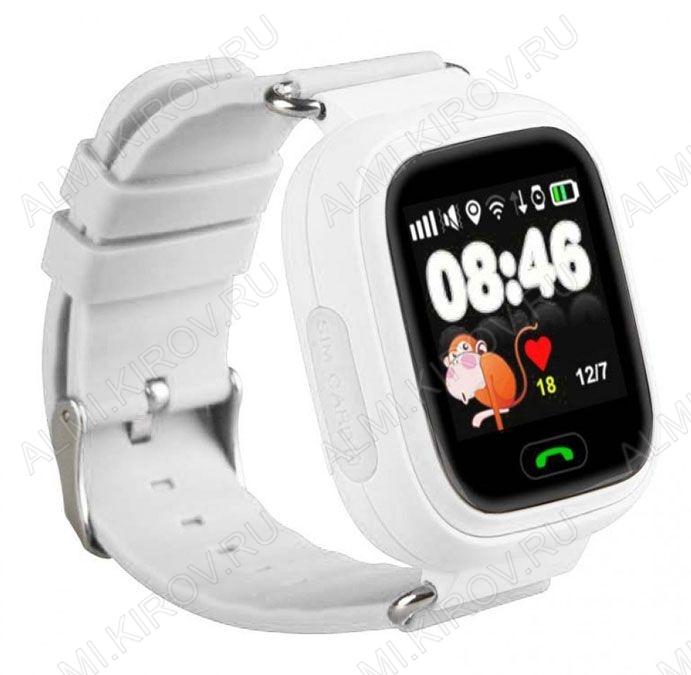 GPS Часы детские Smart Baby Wach Q80 белые