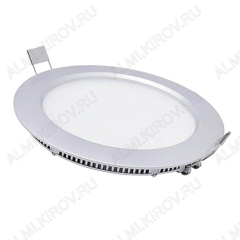 LED панель круглая RS- 9 дневной белый