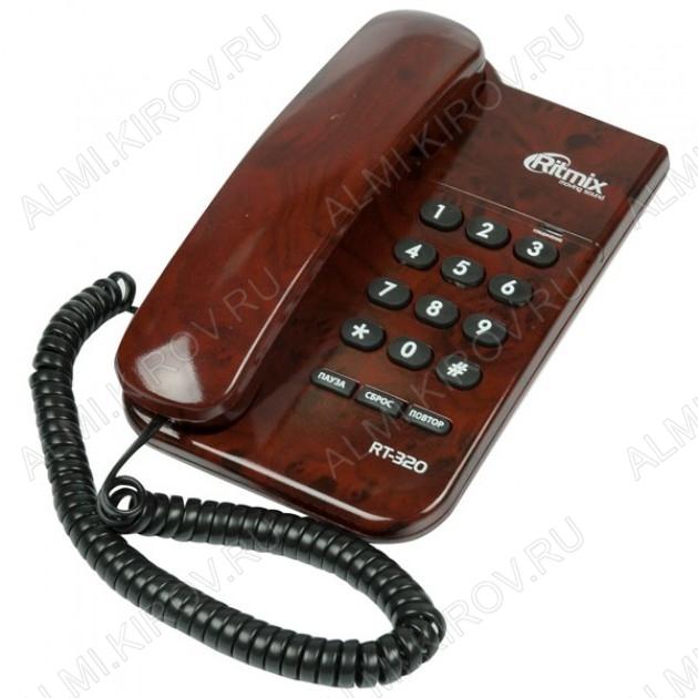 Телефон RT-320 coffee marble