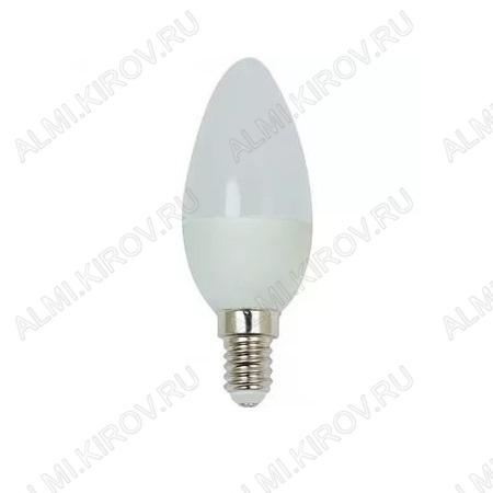 Лампа светодиодная 220В/  7,5Вт/ E14/ 4000К (дневной белый) (L454)/ (DT0003-6);