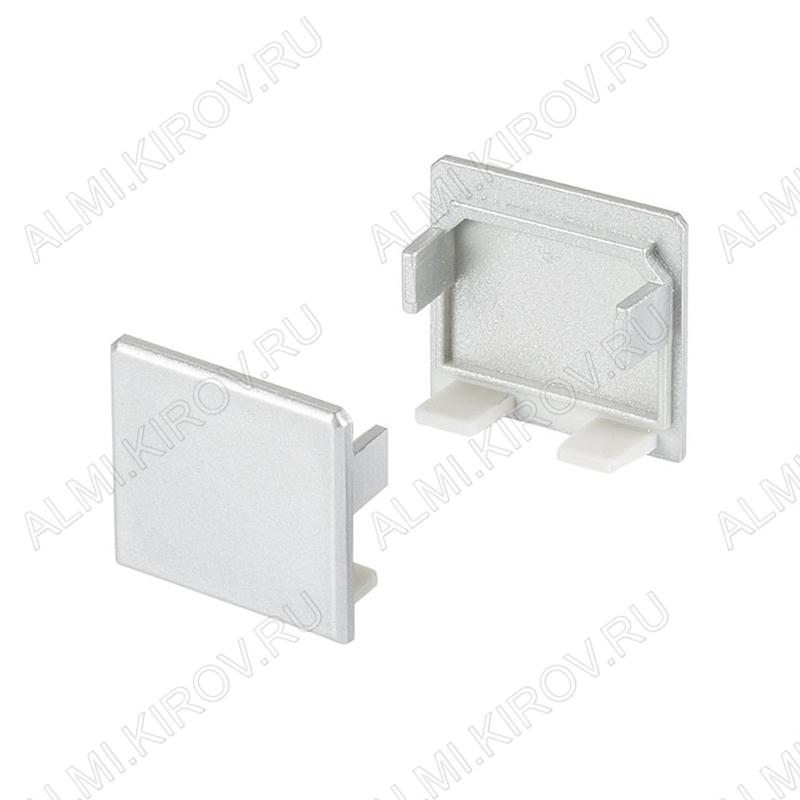 Заглушка PLS-LOCK-H25 (019876)  для профиля PLS-LOCK-H25 глухая; светонепроницаемая; под плоский экран; пластик