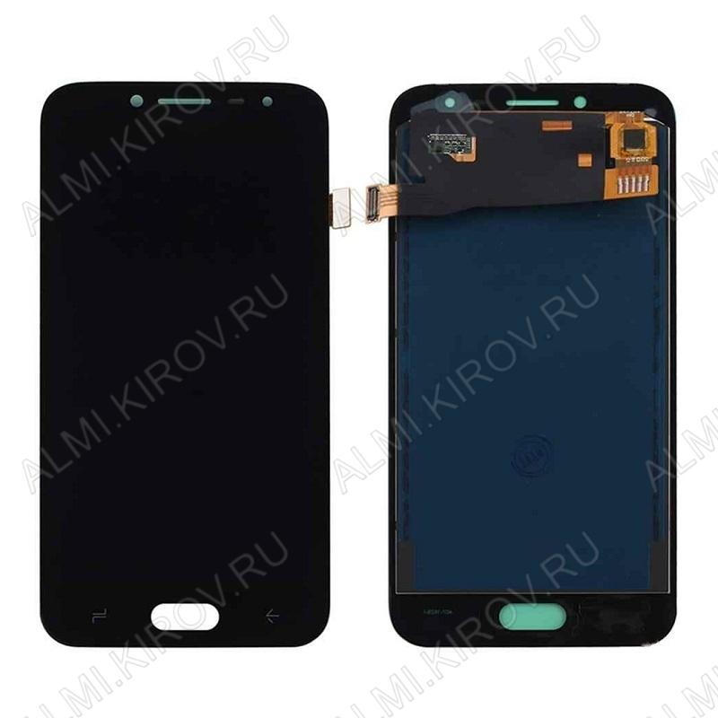 Дисплей для Samsung J250F Galaxy J2 (2018) + тачскрин черный, копия (яркость регулируется)
